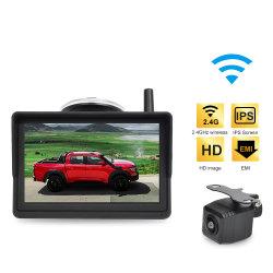 نظام الرجوع للخلف لكاميرا التوقف اللاسلكي الرقمي مقاس 5 بوصات كاميرا الرؤية الخلفية للسيارة للسيارة الرياضية متعددة الاستعمالات للشاحنة الصغيرة