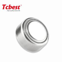 Tcbest Sr44 303 357 1.55V 받아들여지는 시계 OEM를 위한 은 산화물 0%Hg 수성 자유로운 단추 세포 건전지