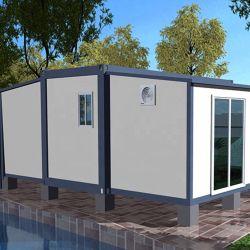 Alojamiento el campamento militar de la casa del contenedor modular prefabricado vivienda temporal