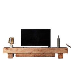 Nordic الرياح سجل الشاي طاولة التلفزيون خزانة مجموعة الباب الصغيرة تصميم جدول الشاي الوتامي مجلس وزراء صوتي مرئي