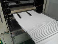 Filtro HEPA de fibra de Eficiência de filtração de ar Material
