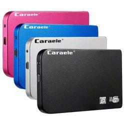 Comercio al por mayor Venta caliente un disco duro portátil barato OEM externo USB 3.0 de SSD de 500GB 1TB de disco duro 2TB de disco duro para PC de escritorio de Mac portátil