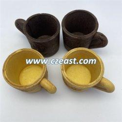 Taza de café desechables comestibles contenedor de fluido