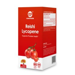Reishi licopeno de tomate natural con la USDA Organic Cápsula de esporas de hongos Reishi