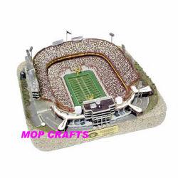 Полимер/Polyresin 3D-модель стадиона стадиона ремесла
