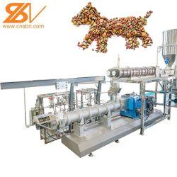 2020匹の熱い販売100kg-6t/H自動犬猫の魚のエビの鳥ペットスナックの押出機の工場生産ライン装置機械魚の供給機械