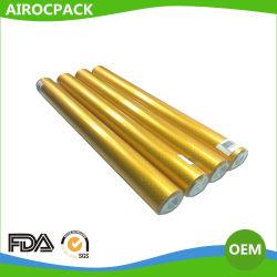 ゴールデンサークルドットエンボス加工アルミニウムフォイル(チョコレートフォイルパッケージ用