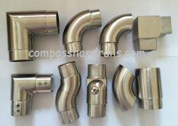 De aço inoxidável para tubos redondos de vidro para escada Varanda/Escadas Corrimãos/balaustrada/grades de proteção/Baluster