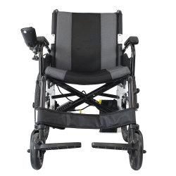 Plegable Portátil ligero coche silla de ruedas eléctrica
