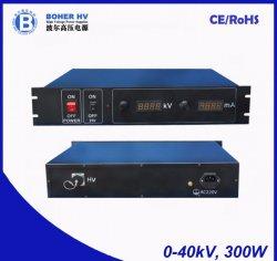 Alimentation haute puissance 40kV 300W à des fins générales LAS-230VAC-P300-40K-2U