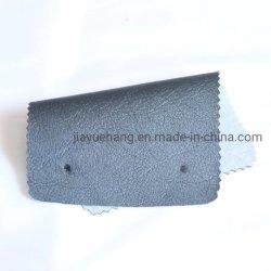 Sofá de cuero y piel de cuero de PVC tejido decorativo. Caja de regalo, Papel tapiz.