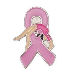 الجمباز الفني الشريط الوردي التوعية بسرطان الثدي