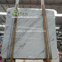Dalles de marbre blanc Volakas, la Grèce de carreaux de marbre blanc & dalles