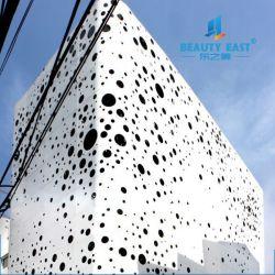 Façade murs rideaux métalliques personnalisées panneau solide en aluminium