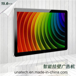 Цифровой коммерческих 15,6 дюйма для использования внутри помещений на стену автономный экран TFT монитор бизнес ЖК-дисплей рекламы