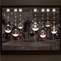 Förderung-Geschenk-hängende Kristallkugel-Wand-Aufkleber-Weihnachtsausgangsdekoration