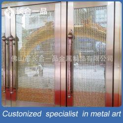 Настраиваемые Зеркальный Золотой наружные защитные элементы безопасности из нержавеющей стали стеклянные двери