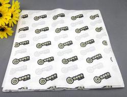 La carta da imballaggio di carta dell'hamburger impermeabile al grasso di vendita al dettaglio del commercio all'ingrosso del fornitore della Cina con il marchio ha stampato