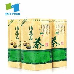 Fabricante de papel castanho Kraft populares personalizados Chá Embalagem de leite em pó Sucos de frutas
