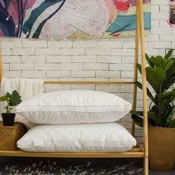 Cuscino oblungo di cotone sembrare morbido del tessuto di bello per imballaggio al minuto