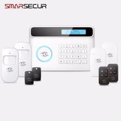 GSM/PSTN Warnungssystem-Eindringling-Einbrecher-IOS des inländischen Wertpapier-PIR/Door/Smoke/Fire/Siren/Android