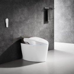 Классический дизайн ванной комнаты автоматической очистки японский Smart туалет