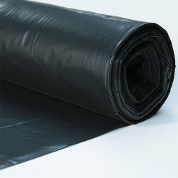 Plástico LDPE negro de la película de cine de la agricultura pajote