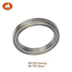 60*78*10mm 6812zz 618126812z zz 61812 61812Z 6812 61812t 61812y 1812s ZZ 2Z de Z C3 C4 des protections métalliques Thin-Section métrique simple rangée radiale du roulement à billes à gorge profonde