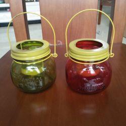 Supporto di candela di cristallo della decorazione/bottiglia domestici vaso della cristalleria