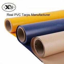 Anti-UV wasserdichte Poly Tarp PVC laminierte Tarpaulin für LKW-Abdeckung Und Zeltstoff