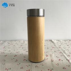 GroßhandelsEdelstahl-Vakuumbambusbecher-Cup