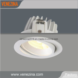 مصباح LED في المصنع ضوء LED 6 واط / 10 واط ضوء موضعي في السقف مصباح الإضاءة عند الانعطاف إلى الأسفل