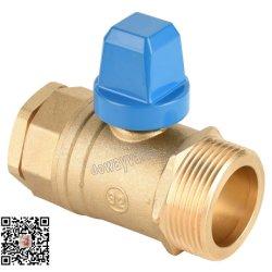 Robinet CW602N Connexion clapet à bille en laiton PE fin de compression