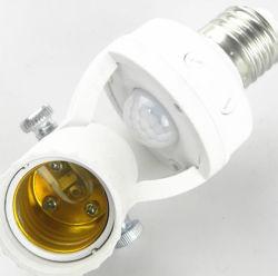 PIR Infrarotmenschlicher Körper-Induktions-Lampen-Halter des fühler-Halter-E27