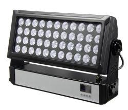 屋外IP65高い発電440W RGBW 4in1 DMX LED都市カラー壁の洗浄ライト