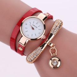 Il braccialetto di lusso del vestito dalle donne della vigilanza del quarzo dell'acciaio inossidabile delle nuove di modo del Rhinestone donne delle vigilanze guarda l'orologio Relojes 2018 delle signore