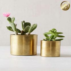 Vasos metálicos/caixas de Flores Decoração/jardim a plantadeira