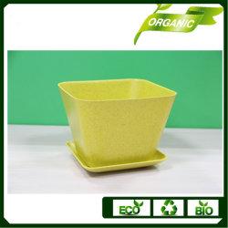 多重カラーEcoの花またはプラントのためのタケプラント鍋