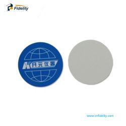 scheda di plastica della moneta RFID della radura di buona qualità di HF di 125kHz 13.56MHz Lf