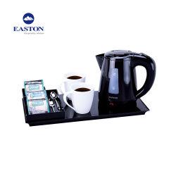 Hotel-elektrische Kessel mit Melmine Tellersegment und Kaffee-Tellersegment