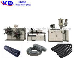 Plastic HDPE PE PP PVC enkele wand Golfbuis Soft Buis Extrusie productie machine / kunststof elektrische draad buis Productielijn voor machines maken