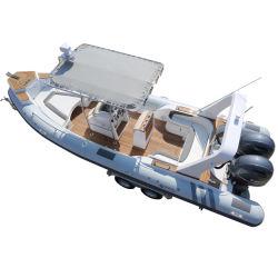 Opblaasbare Boten van uitstekende kwaliteit van de Bodem van het Aluminium van Hull van pvc of de Materiële van de Rib Hypalon Stijve