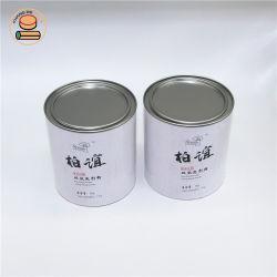 Custom Food Grade композитный бумаги банок упаковка бумаги трубы банок на какао-порошок / Питание