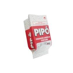 주문 인쇄 기름 증거 음식 급료 종이 봉지 Microwavable 팝콘 종이
