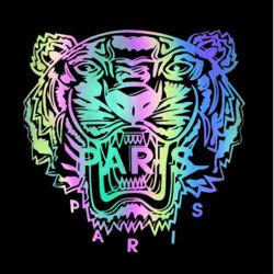 DIY Logotipo da impressão de etiquetas autocolantes reflectoras de transferência de calor para a T-shirt Garment