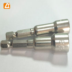 A Porca magnético Conjunto de driver de adaptador de várias ferramentas de mão Broca Hex Haste Sextavada Ferramenta de ajuste da chave de soquete