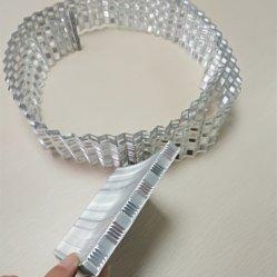 El intercambio de calor de aluminio de aletas de aluminio para la refrigeración