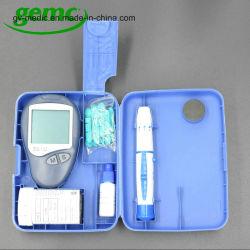 Medidor de glucosa en sangre Diabetes Digital y tira de prueba