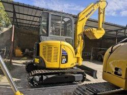 3ton/usados/japonés de segunda mano barato/Komatsu PC35/PC55/Cat 308C/308d/ Mini/Small/orugas/máquinas de construcción/JCB/excavadoras excavadoras/en venta