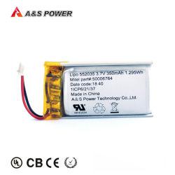 工場李ポリマー充電電池のスマートな腕時計の補聴器3.7VのリチウムポリマーLipo電池